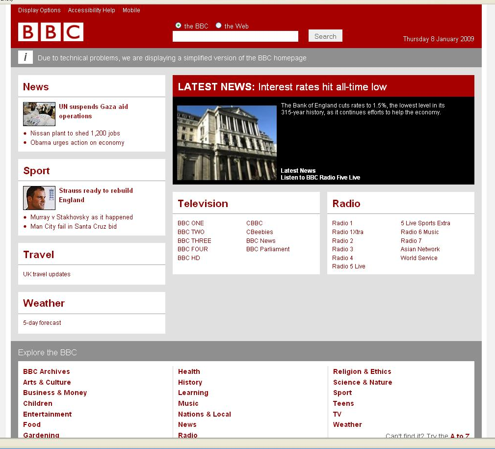 Fortnightly Mailing: Let's have more technical problems at the BBC