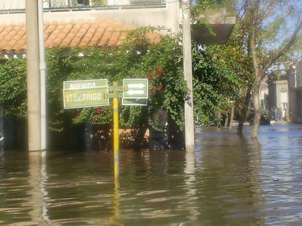 May flood in Mercedes Uruguay 1