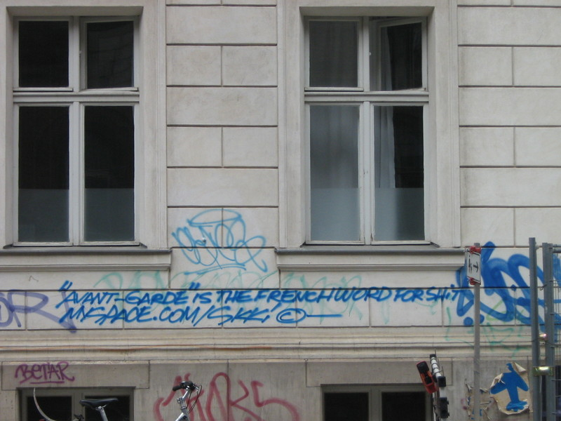 Picture taken in Berlin on 19 July 2007